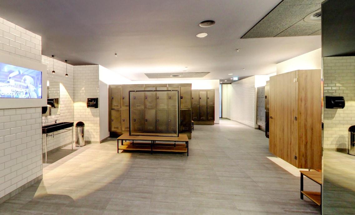 industrielle und moderne schr nke f r den umkleideraum im fitnessstudio in k ln atepaa sport. Black Bedroom Furniture Sets. Home Design Ideas
